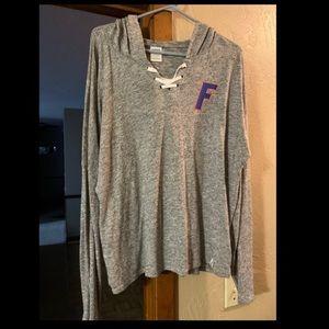"Women's ""PINK"" Florida Gator lightweight hoodie."